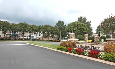 Community Signage, Allerton Place Apartment Homes, 1