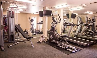 Fitness Weight Room, Sunset Landing, 2