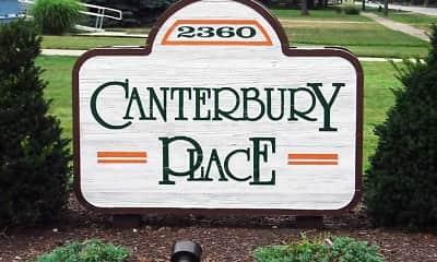 Community Signage, Canterbury Place Apartments, 0