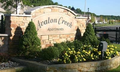 Community Signage, Avalon Creek, 2