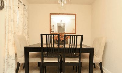 Dining Room, Mallard Courts Apartments, 1