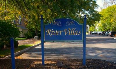 Community Signage, River Villas, 1