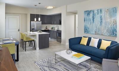 Living Room, Camden Pier District, 0