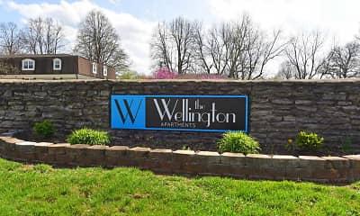 Community Signage, The Wellington, 2