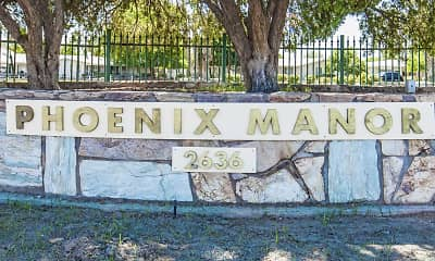 Community Signage, Phoenix Manor Senior Housing, 2