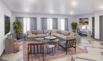 Living Room, The Concord - Senior 55+, 1