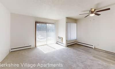 Living Room, Berkshire Village Apartments, 1
