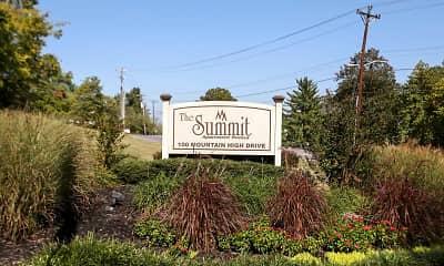 Community Signage, The Summit, 2