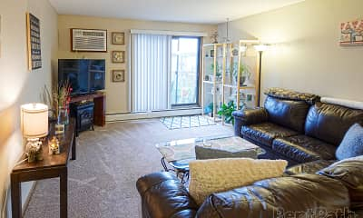 Living Room, Sherburne Park Estates, 1