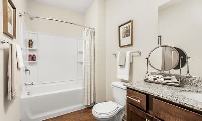 Bathroom, Overture Flats, 2