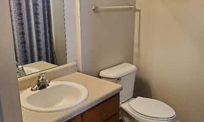 Bathroom, Fieldstone Townhomes, 2