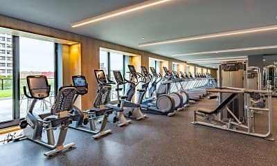 Fitness Weight Room, 485 Marin Boulevard, 2