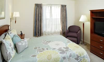 Bedroom, East Mountain Apartments, 2