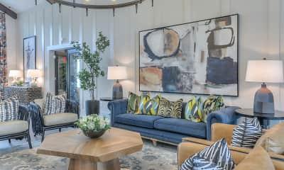 Living Room, Waterleaf at Old Franklin, 1