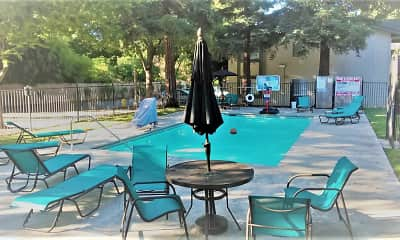 Pool, Redwood Cove Apartments, 1