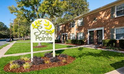 Community Signage, Sage Pointe Apartments & Townhomes, 0