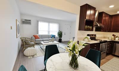 Living Room, M Street Flats, 1