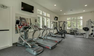 Fitness Weight Room, Haven Hills, 2