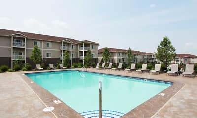 Pool, Elk Hills Apartments, 0