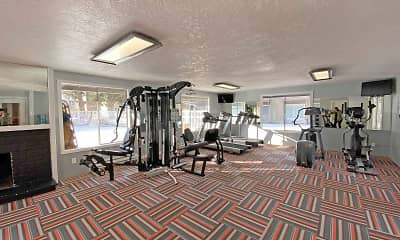 Fitness Weight Room, Central Pointe, 2