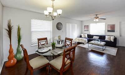Dining Room, Savannah Place, 1