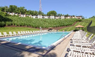 Pool, Crane Village Apartments, 1