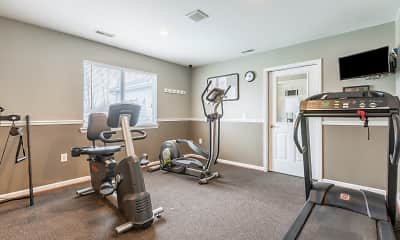 Fitness Weight Room, Pheasant Run, 2