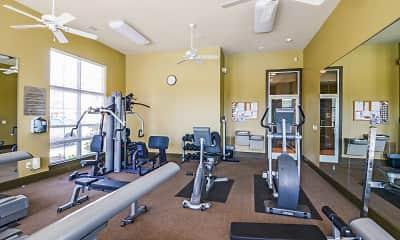 Fitness Weight Room, Grand Island, 2