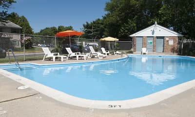 Pool, Jamestown Square Apartments, 1