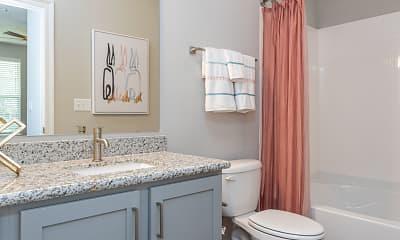 Bathroom, Blu on the Boulevard, 2