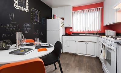 Kitchen, AVA Burbank, 1