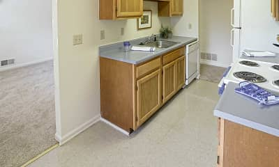 Kitchen, Crimson Heights Apartments, 0