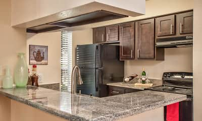 Kitchen, Timberlake Apartments, 1
