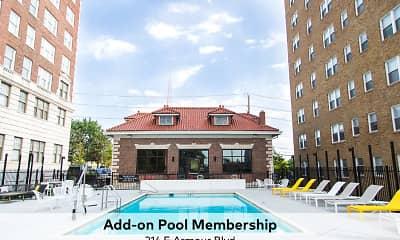 Pool, Raleigh Arms, 1
