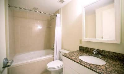 Bathroom, The CenterPointe of New Haven, 2