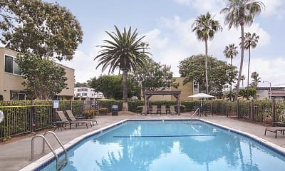 Pool, Loma Palisades Apartments, 1