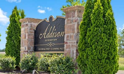 Community Signage, Addison at Rossview, 1