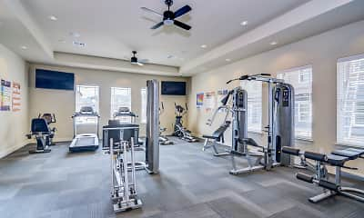 Fitness Weight Room, Brazos Crossing, 2