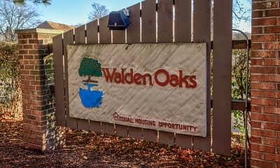 Community Signage, Walden Oaks, 2