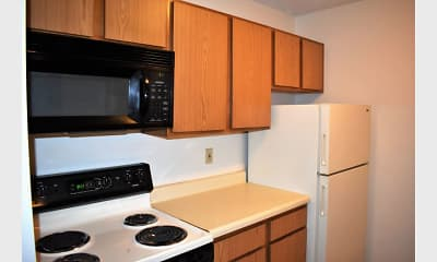 Kitchen, Northcrest Apartments, 1