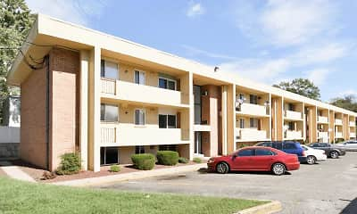 Building, Ivanhoe Apartments, 1