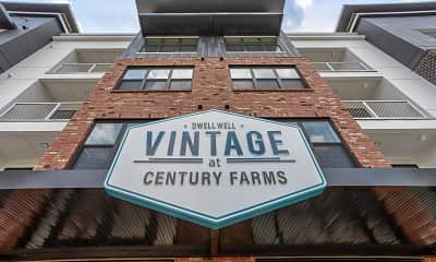 Community Signage, Vintage at Century Farms, 2