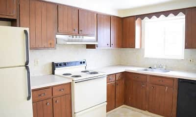Kitchen, Aurora Village Apartments, 1