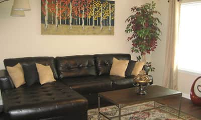 Living Room, Ashton Park Townhomes, 1