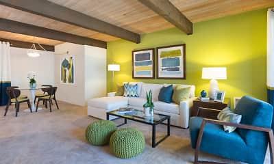 Living Room, Crystal Springs Terrace, 2