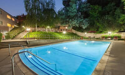Pool, The Glens Apartments, 1