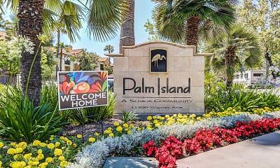 Community Signage, Palm Island Senior Living +55, 1