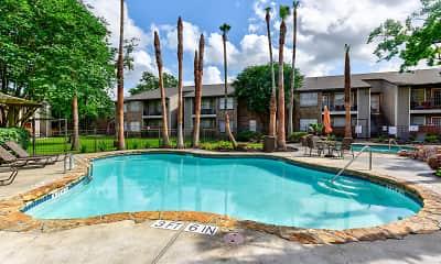 Pool, Eagles Landing Apartments, 0