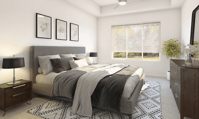Bedroom, The Hardison, 2