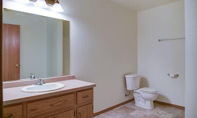 Bathroom, Ashbury Apartments, 2
